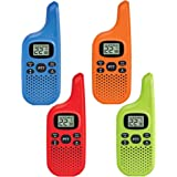 Midland - X-TALKER T20X4, Bright Colors & Fun for Kids | 22 Channel FRS Walkie Talkie - Two-Way Radio, 38 Privacy Codes…