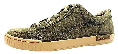 Zapatos Hombre Ante Cordones Caterpillar Verde Modesto Para De 4BxFYF