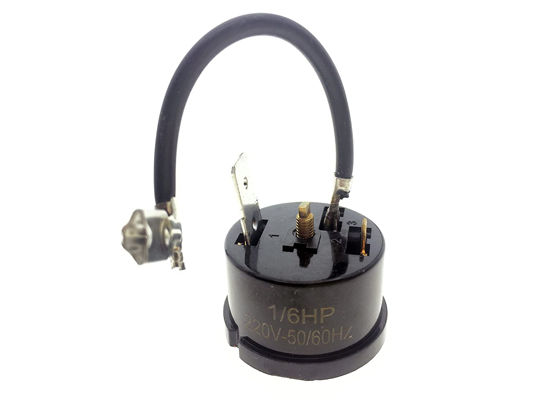 YXQ 6pcs redonda Compresor Sobrecarga Protector Térmico relé de ...