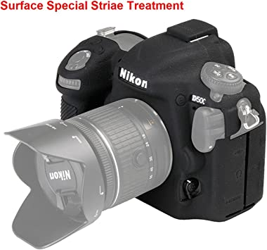 Silicone Protector Body Cover Case Skin For Nikon D500 Camera