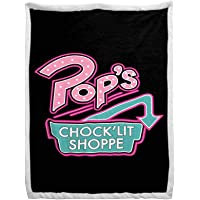 Jay Franco Riverdale Pop's Sherpa Back Blanket - Measures 60 x 90 inches, Bedding - Fade Resistant Super Soft (Official…