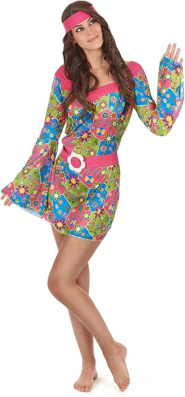 Disfraz de flores hippie Única: Amazon.es: Juguetes y juegos