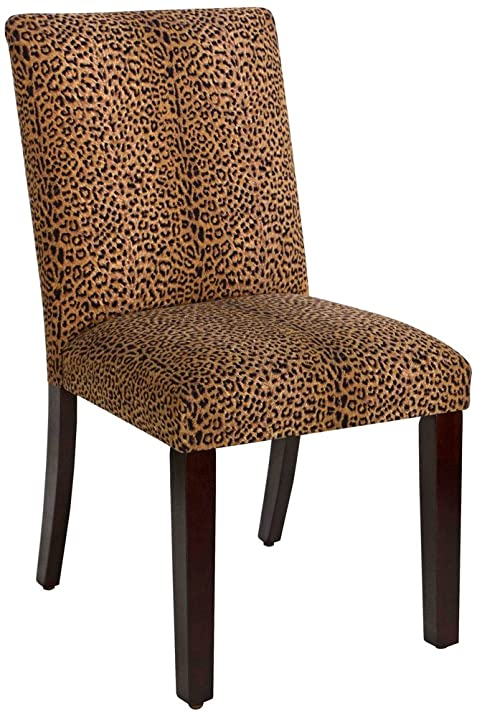 Skyline Furniture 20u0026quot; Dining Chair In Cheetah Earth