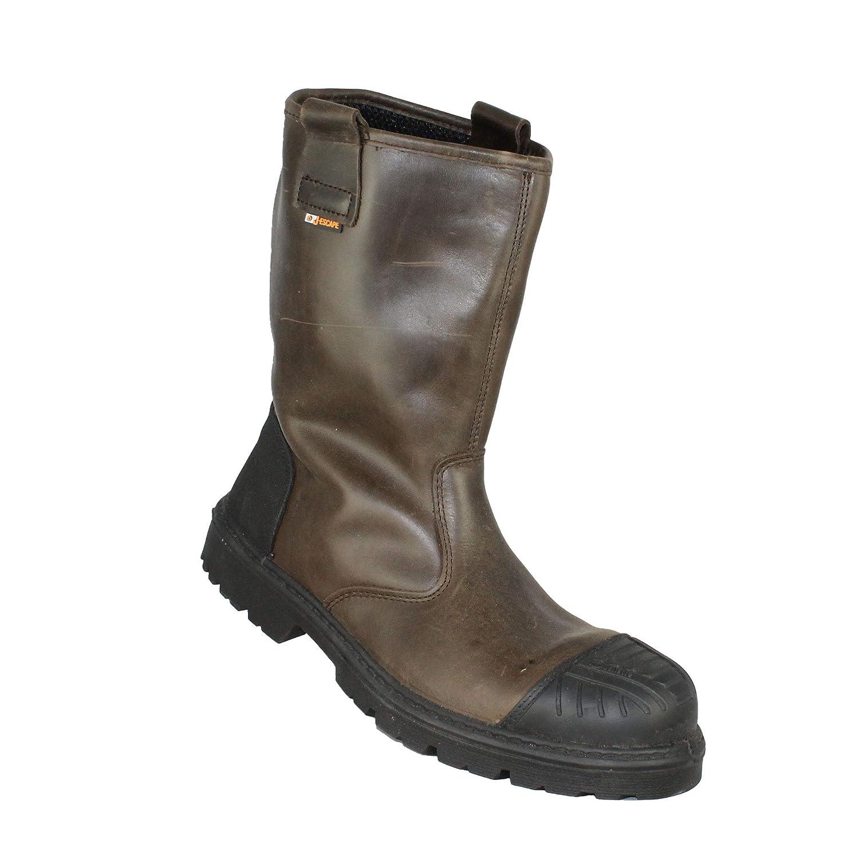 Jallatte Jasalix S3 HRO SRC Sicherheitsschuhe Arbeitsschuhe Trekkingschuhe Stiefel Braun B-Ware