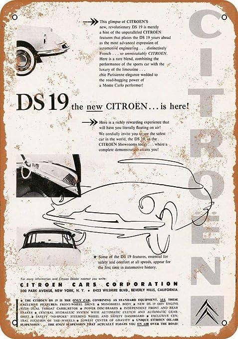 LORENZO DS 19 Car Vintage Metal Cartel de Chapa Pared Hierro ...