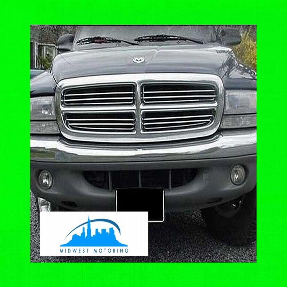 Amazon.com: 1998-2003 DODGE DURANGO CHROME GRILL GRILLE KIT 1999 2000 2001  2002 98 99 00 01 02 03 SLT R/T 4X4 SPORT PLUS: Automotive