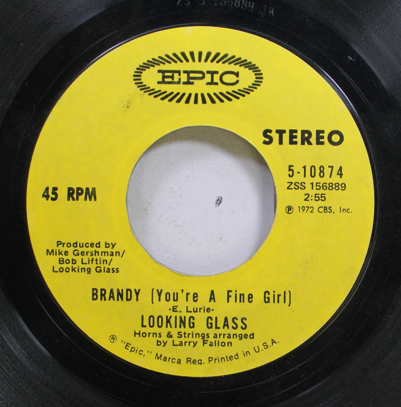 Looking Glass 45 RPM Brandy (You're a ...