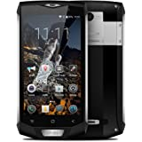 Blackview BV8000 Pro Tri-proof Ragged Phone IP68 Impermeabile 4G-LTE 3G WCDMA MTK6757V 64 bit 2.3GHz Octa Core Android 7.0 5,0 pollici FHD 1920 * 1080Pixels Schermo 6GB RAM + 64GB ROM 4180mAh Battery