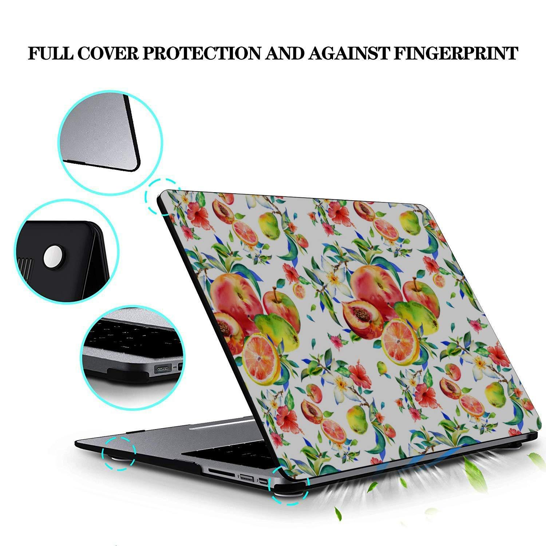 13inch MacBook Pro Case Summer Fruit Grapefruit Green Leaf Plastic Hard Shell Compatible Mac Air 11 Pro 13 15 13inch MacBook Pro Case Protection for MacBook 2016-2019 Version
