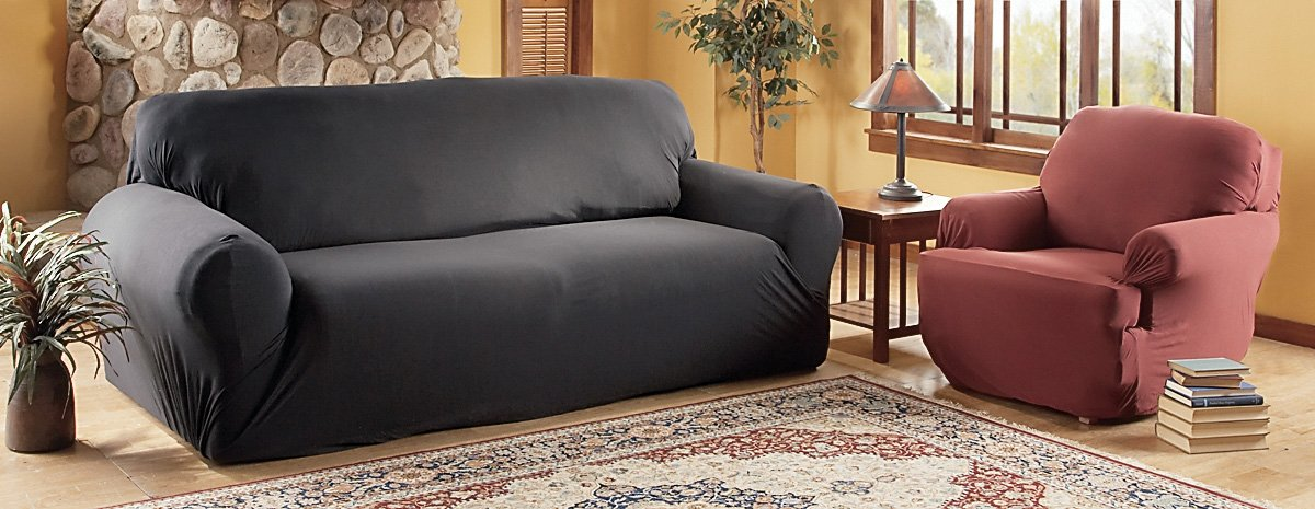 Madison Stretch Jersey Recliner Slipcover, Large, Solid, Navy MADISON INDUSTRIES INC. us home MBPT0
