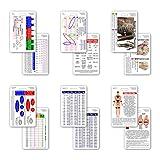 Mini Paramedic Vertical Badge Card Set - 6 Cards