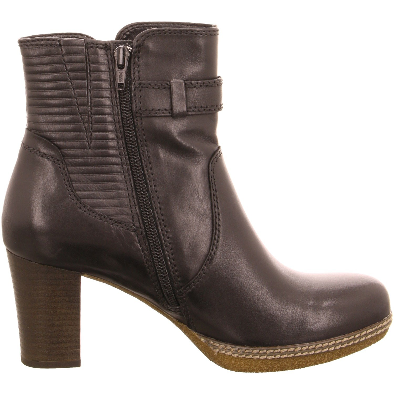 Simmons W17 Gabor Heeled Ankle Boot 8 Tan 0AuT23