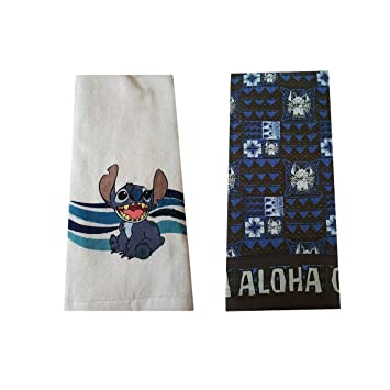 Amazon.com: Disney Parks Authentic Stitch Aloha Ohana Kitchen Dish ...