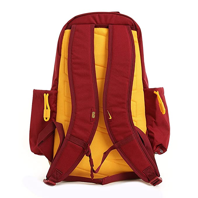 f4aa476ead Amazon.com: Nike Kyrie Backpack Team Red/University Gold: Sports & Outdoors
