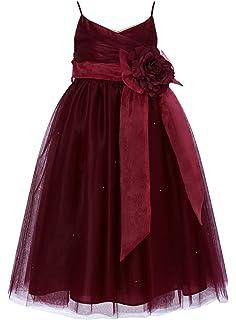 1c5678990b princhar Tulle Flower Girl Dress Junior Bridesmaids Dress Little Girl  Toddler Dress