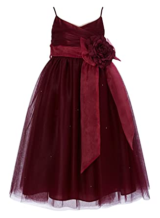 bc7072f637 Princhar Tulle Flower Girl Junior Bridesmaids Little Girl Toddler Dress