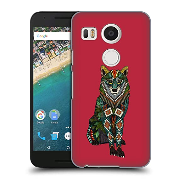 separation shoes b32f8 bfc14 Amazon.com: Official Sharon Turner Wolf Animals Hard Back Case for ...