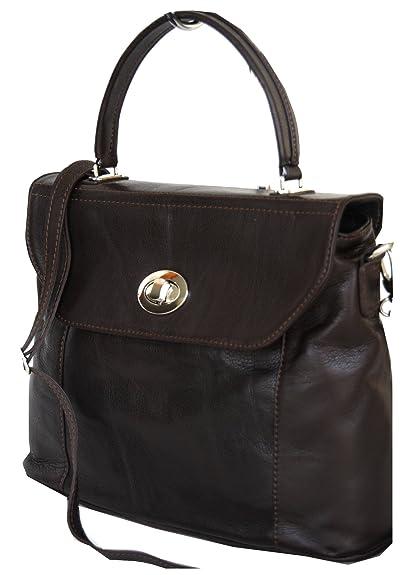 085105ad19a47 fashion-formel Women s Umhängetasche Top-Handle Bag Brown brown M ...