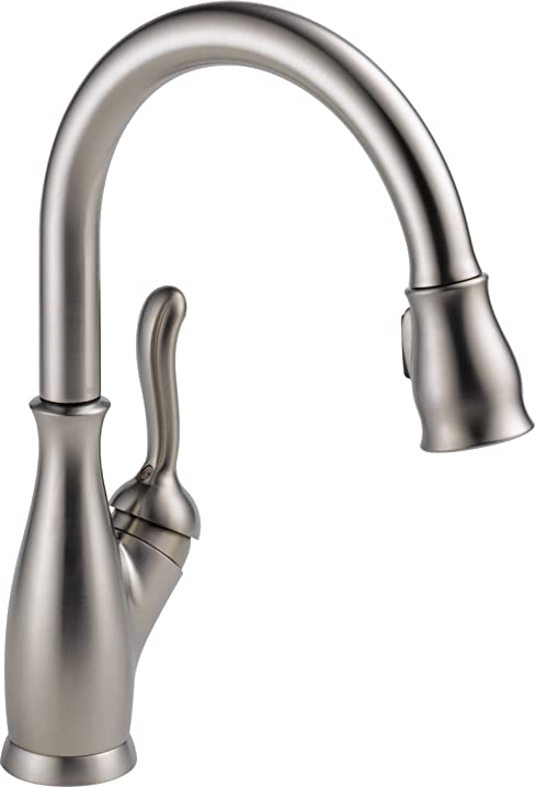 Delta Faucet 9178-SP-DST Leland single Handle Pull-Down Kitchen ...