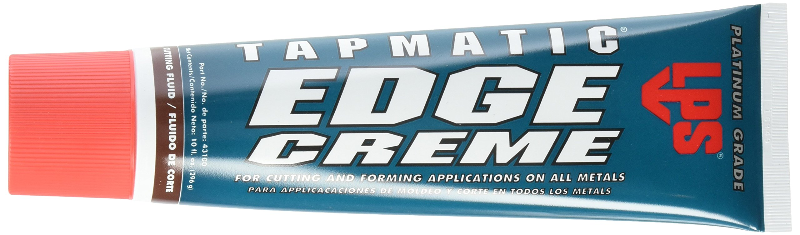 LPS 43100 Tapmatic Edge Creme Cutting Fluids, 10 oz, White/Opaque (Pack of 10)