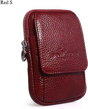 Men Vintage Belt Bag Cell Phone Coin Money Purse Pocket Waist Bum Fanny Pack Bag