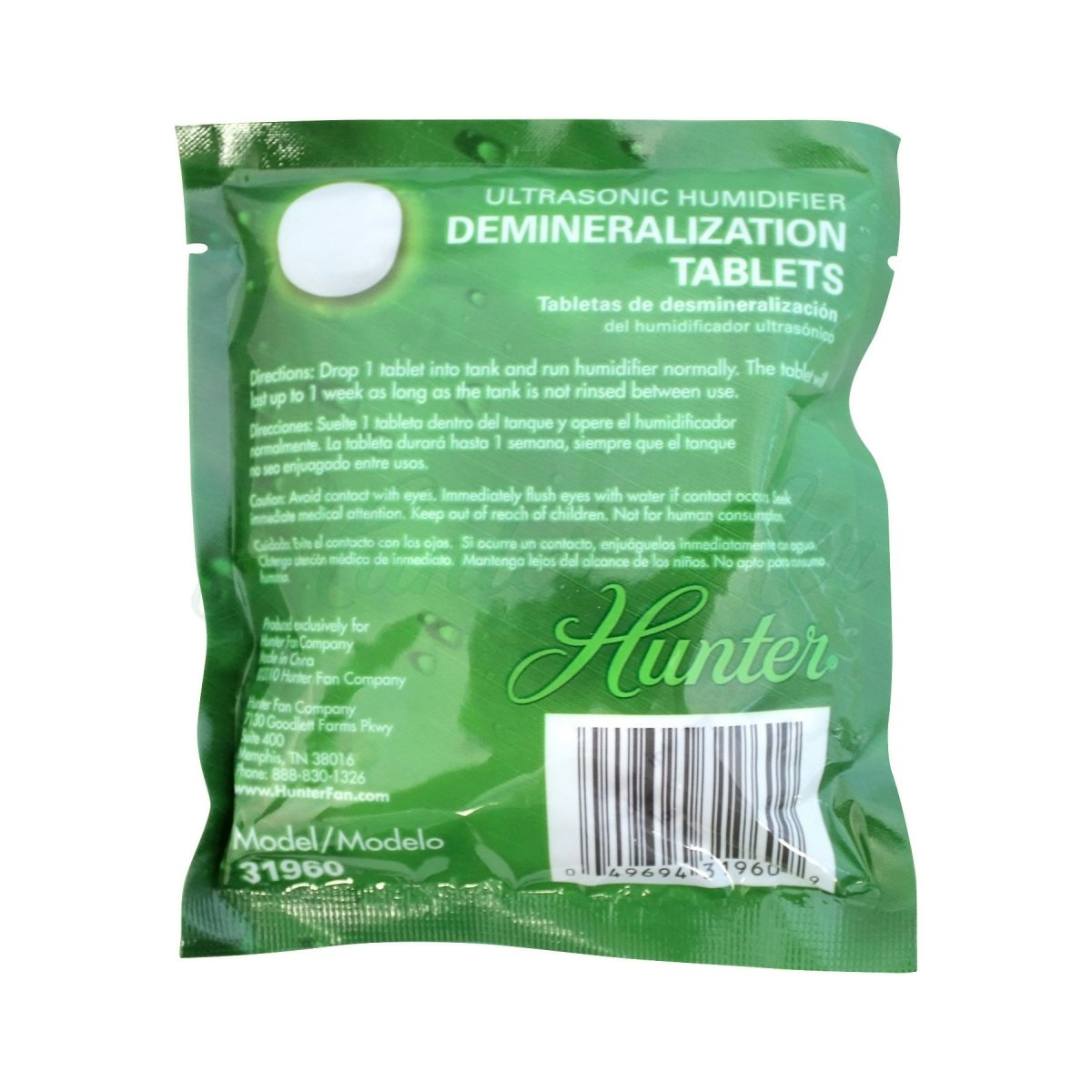 Hunter 31960 Demineralization Tablet for 31004 Humidifier by Hunter Home Comfort (Image #2)
