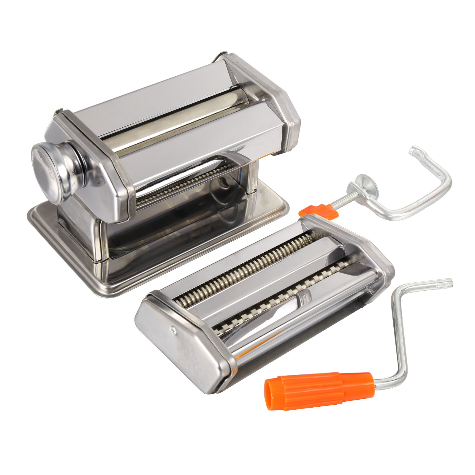 Pasta Maker Machine, Stainless Steel roller and cutter for Spaghetti , Fettuccine and Noodle , include 2 Blades (TYPE B) by Jaketen (Image #4)