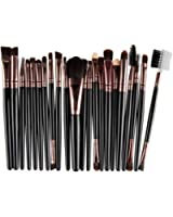 Han Shi Brushes, Fashion 22Pcs Makeup Brush Tools Lip Powder Eye Shadow Toiletry Kit