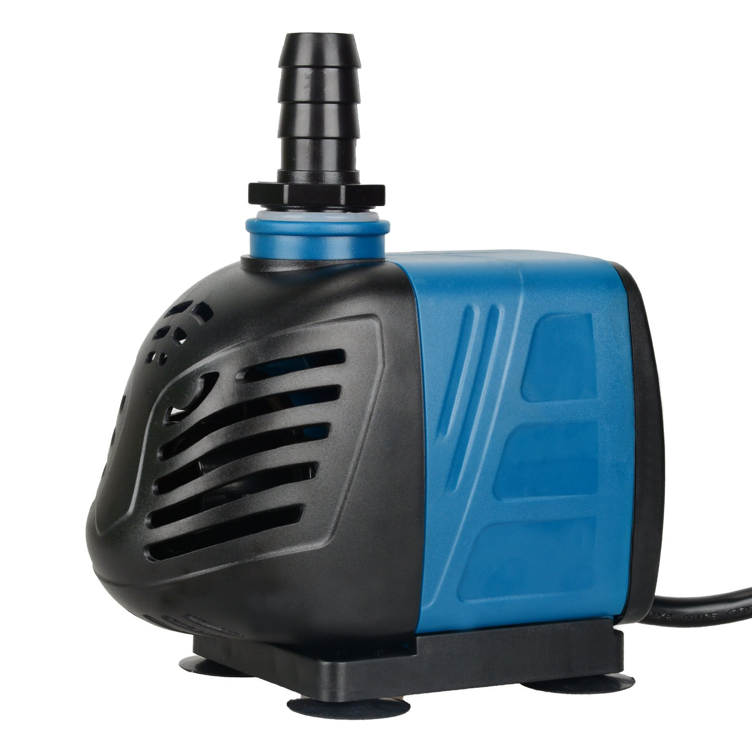 Uniclife 80-550GPH Submersible Water Pump with 6ft Power Cord for Fountain Aquarium Pond Fish Tank Hydroponic (550 GPH)