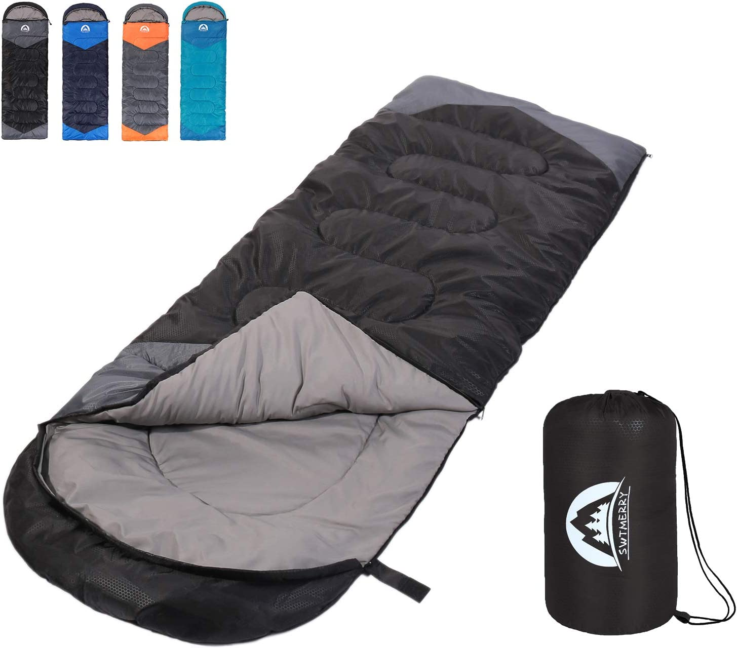 Girls /& Boys Great for 4 Season Warm /& Cold Weather Hiking Camping CER TAMI Sleeping Bag for Adults Perfect for Outdoor Backpacking Lightweight Waterproof Compact