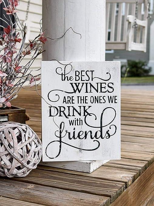 Amazon.com: Rfy9u7 Los mejores vinos son los que bebemos con ...