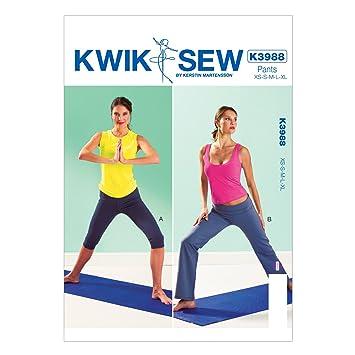 KWIK-SEW PATTERNS Kwik Sew Mustern K3988, Größe XS klein – mittel ...