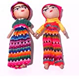 Worry Doll 3 Inch - Two Dolls