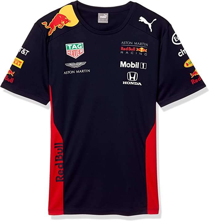 Large White Formula 1 Mens 2020 Team T-Shirt McLaren Racing