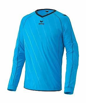 erima Torwarttrikot Roma - Camiseta de portero de fútbol para hombre, color azul/negro, talla S: Amazon.es: Deportes y aire libre