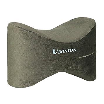 Soporte de espuma de memoria de alta densidad para almohada de rodilla para pierna con funda extraíble de terciopelo-Aliviar el dolor de rodilla en la ...