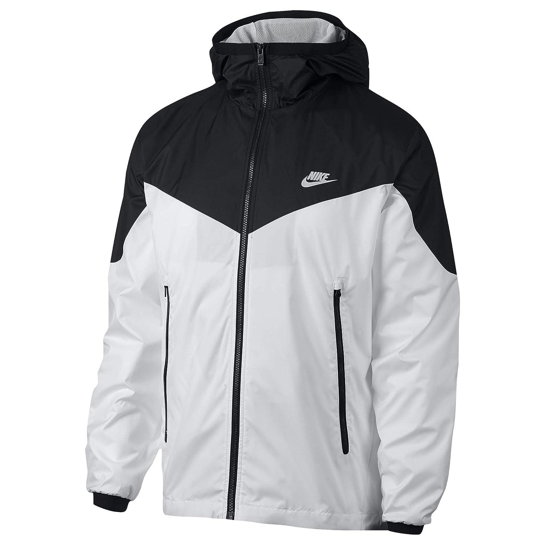 Noir blanc extra-grand Nike M NSW Windcourirner Veste pour Homme