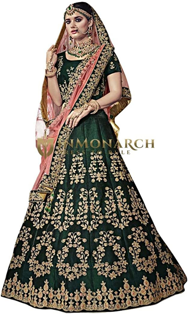 Exclusive Heavy Velvet Lehenga Choli With Embroidered Work And Net Dupatta For Women