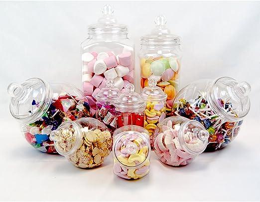 Recipiente de plástico Parte Pack-10 Assorted Jars-Fast Entrega ...