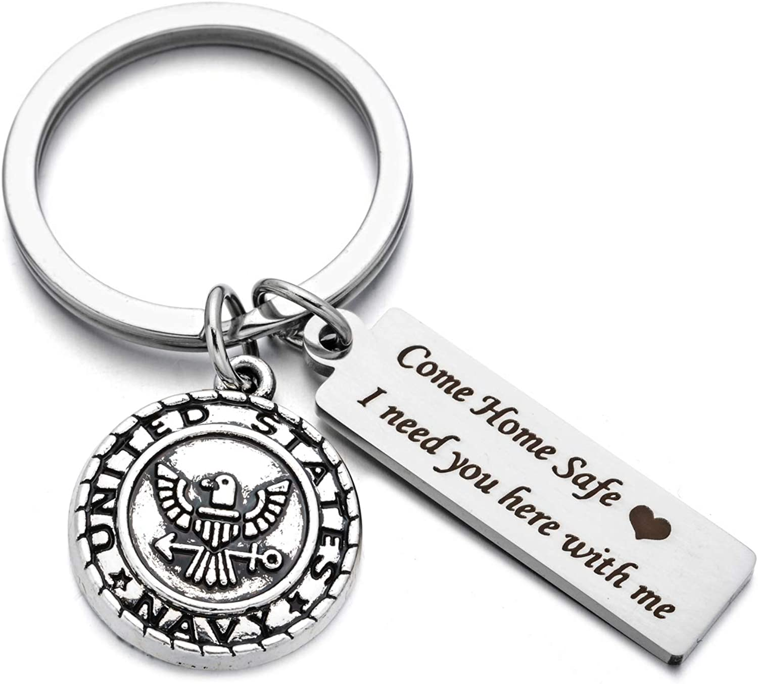 Drive Safe Charms Keychain Come Home Safe I Need You Here ...