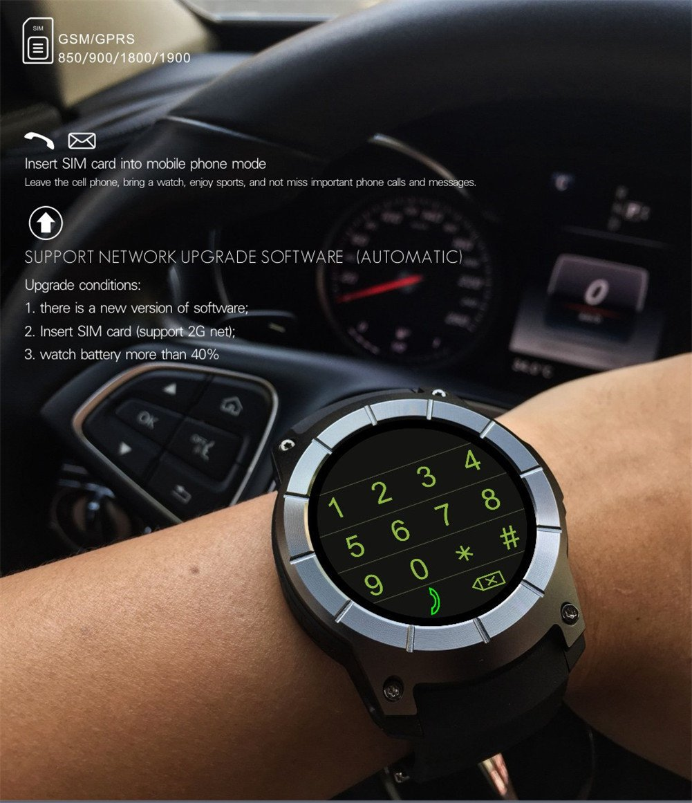 Amazon.com: borien reloj inteligente GPS integrado ...