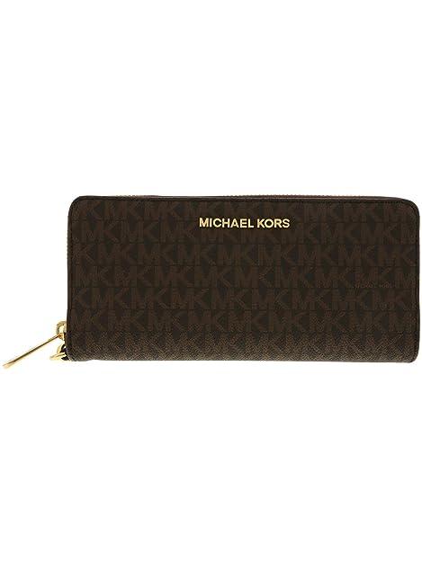 Michael Kors Jet Set Travel Continental Leather Wristlet