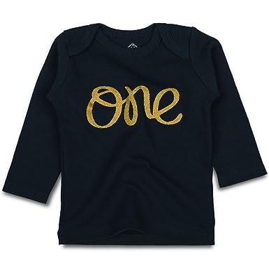 OPAWO Baby First Birthday T Shirts Long Sleeve For Unisex Boy Girl 9