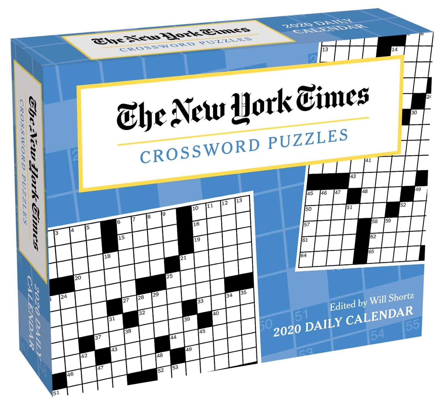 The New York Times Crossword Puzzles 2020 Day To Day Calendar The New York Times 9781449498207 Amazon Com Books