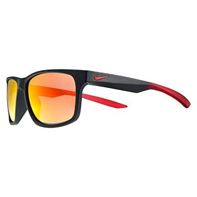 141c18dd7 Óculos NIKE Essential Chaser R Ev0998 006 Preto Vermelho Lente Espelhada  Vermelho Ouro Laranja Tam 59