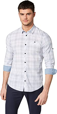 Tom Tailor Camisa para Hombre: Amazon.es: Ropa y accesorios