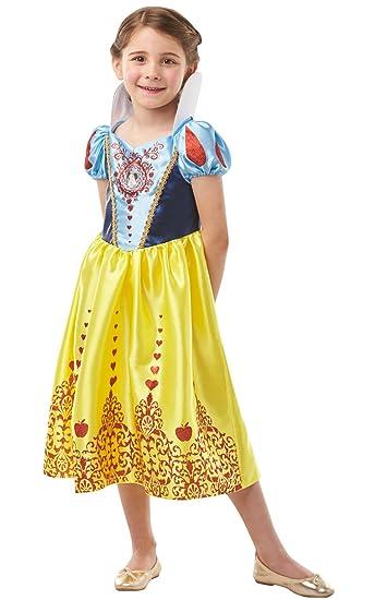 Deluxe Disney Biancaneve Ragazze Costume Principessa Libro Giorno Costume Bambino Kids