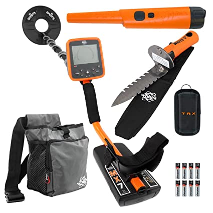 Amazon.com : Whites MX7 Metal Detector, TRX Pinpointer, Digmaster, Pouch & 9.5