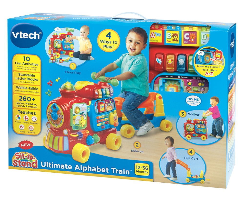 VTech Sit-to-Stand Ultimate Alphabet Train by VTech (Image #10)