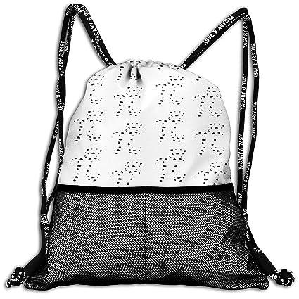 7d92142bad81 Amazon.com: MODREACH Drawstring Backpack Bags - Cow ¦Ð Patterns Sack ...